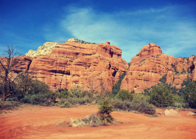Jeep tour in Sedona, AZ.